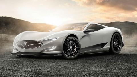 Tesla Model R frontal