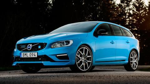 Volvo V60 Polestar familiar deportivo