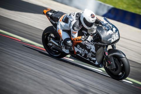 La KTM RC16 de MotoGP se presentará el próximo sábado