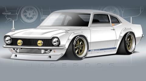 El Ford Maverick de Sung Kang