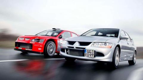Mitsubishi Lancer EVO VIII deportivo rally clásico motorsport sedán