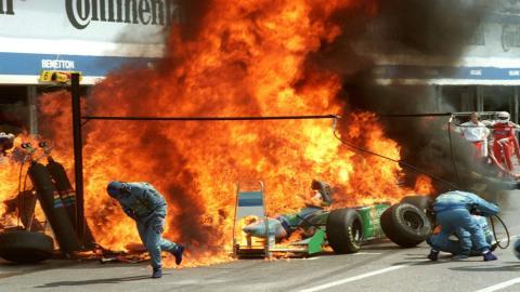 Los peores pit stop de la F1