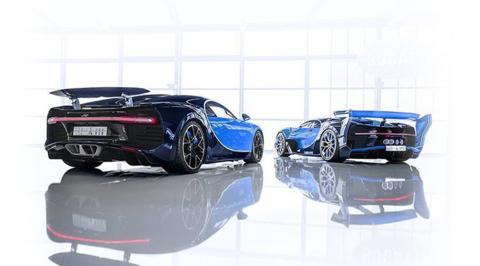 Un príncipe saudí compra un Bugatti Chiron y un Vision GT Concept