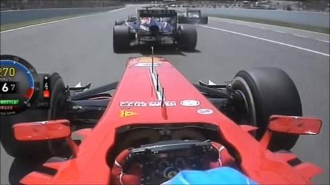 Las salidas de Fernando Alonso