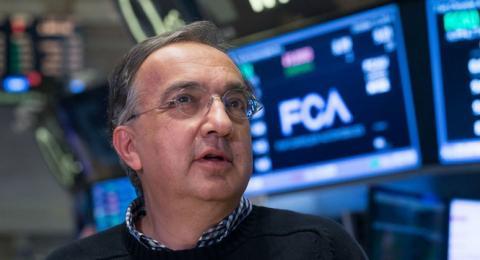 Sergio Marchionne, CEO de FCA, no acudirá al Salón de París