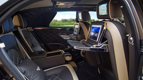 Bentley Mulsanne Sinjari edición especial Mulliner one-off lujo superlujo árabe negro