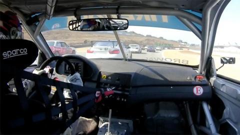 BMW M3 E46 racing interior laguna seca remontada competición motorsport