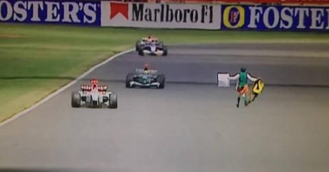 Los espontáneos y sus invasiones de pista en la F1