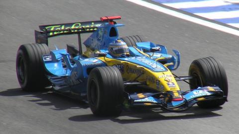 Los monoplazas de Fernando Alonso en la F1