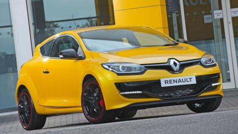 Renault Mégane RS deportivo compacto circuito