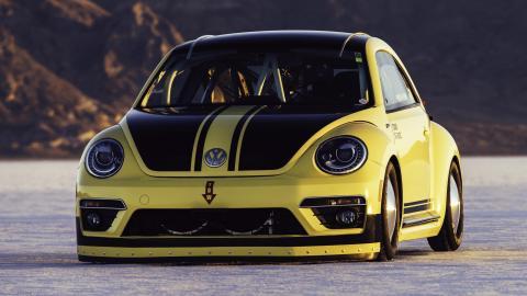 Volkswagen Beetle más rápido record velocidad bonneville salt