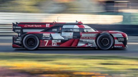 Audi Le Mans WEC lateral LMP1 prototipo