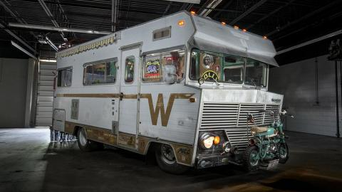 Caravana Happy Camper autocaravana hipster hippie interior rat style potente