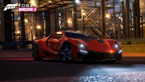 GTA Spano Forza Horizon 3 videojuego superdeportivo español virtual