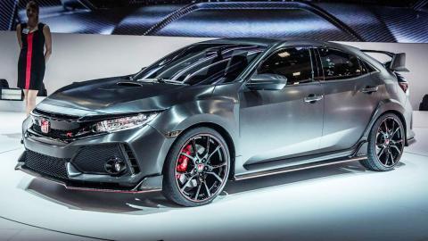Honda Civic Type R Prototype 2017