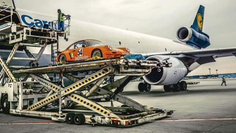 Llega a Europa un Porsche 911 RSR de Jagermeister