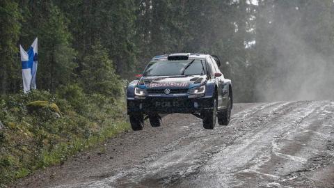 Mayor velocidad media en una prueba del Mundial de Rallys