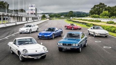 Los Mazda de motor rotativo