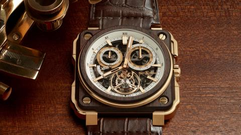 Reloj BRX1 Tourbillon Instruments de Marine