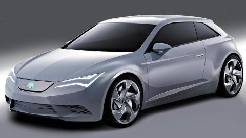 Seat IBE Concept prototipo eléctrico coche vehículo primer