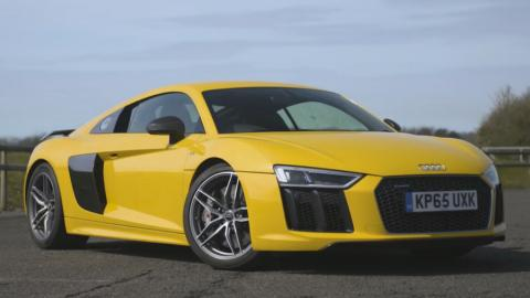 Audi R8 V10 Plus Chris Harris
