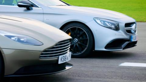 Drag Race: Astin Martin vs. Mercedes-AMG