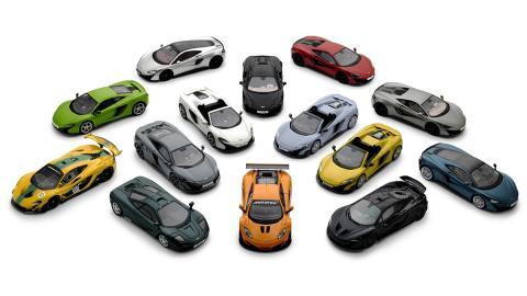 Las espectaculares maquetas de McLaren