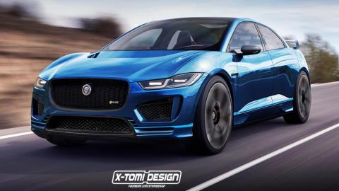 Jaguar I-Pace RS de X-Tomi Design