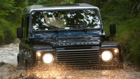 Land Rover Defender agua todoterreno barato off-road todo terreno 4x4 agua