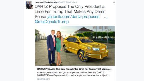 Limusina Dartz Donald Trump (I)