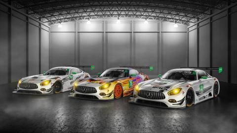 Mercedes-AMG GT 6.3 IMSA 2017