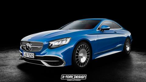 Mercedes-Maybach S650 Coupe lujo maybach mercedes azul