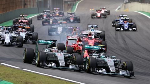 Rosberg y Hamilton se juegan el Mundial en Brasil