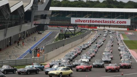 Silverstone Jaguar E-Type Circuito clasicos classic