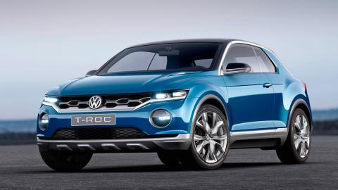 Volkswagen T-Roc Concept SUV compacto golf prototipo