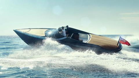 Yate de lujo de Aston Martin AM37