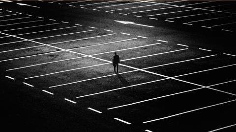 aparcamiento solitario parking