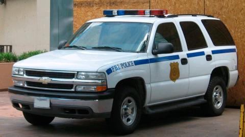 Chevrolet Tahoe Policía EEUU
