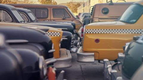 Cinema Vehicles alquiler coches película clasicos lujo deportivos cine hollywood