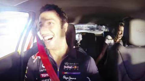 Los coches de Daniel Ricciardo
