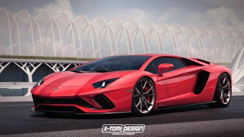 Lamborghini Aventador S cuatro puertas
