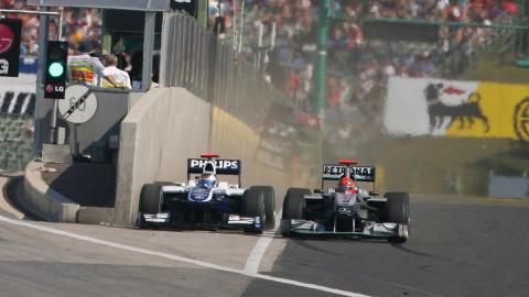 Las maniobras más sucias en la F1