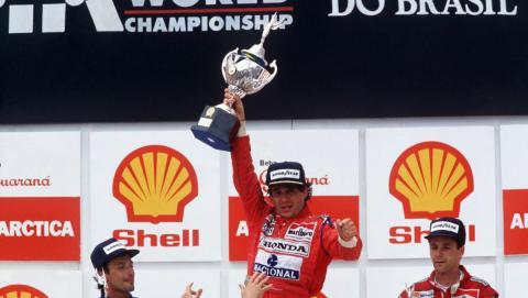 Las mejores carreras de Ayrton Senna