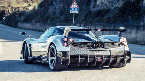 Los mejores coches para comprar con presupuesto ilimitado - Puesto 10 - Pagani Huayra