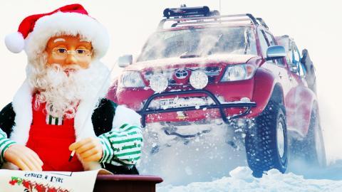 Los mejores coches para Papá Noel