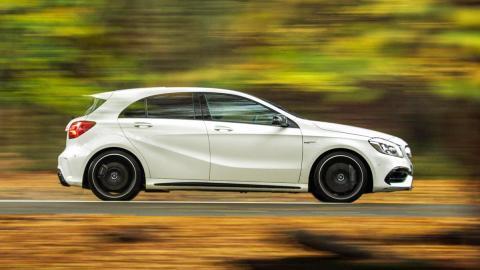 Los mejores coches que puedes comprar por menos de 70.000 euros - Puesto 10 - Mercedes-AMG A 45