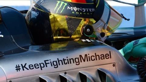 Las mejores imágenes de la carrera de Michael Schumacher en el 4º aniversario de su accidente de esquí