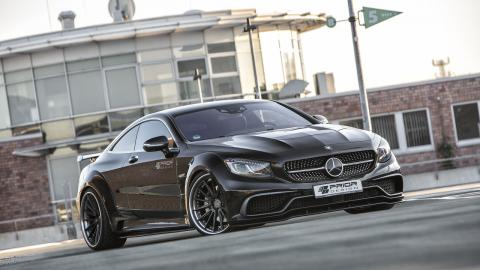 Mercedes Clase S Coupé by Prior Design coupe lujo agresivo prestaciones preparaciones
