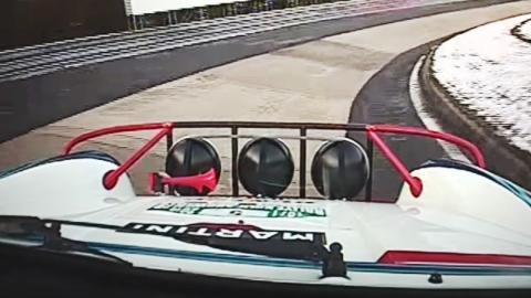 Un tramo de rally recorre Nürburgring al revés...