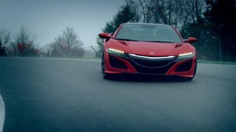 Vídeo Honda NSX